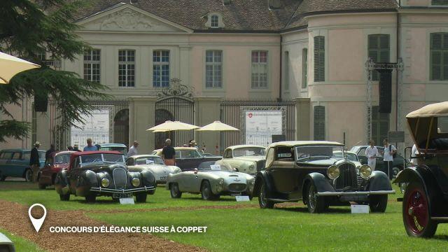 Concours d'Elégance Suisse à Coppet