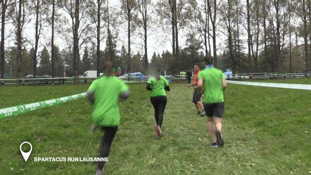 Spartacus Run Lausanne