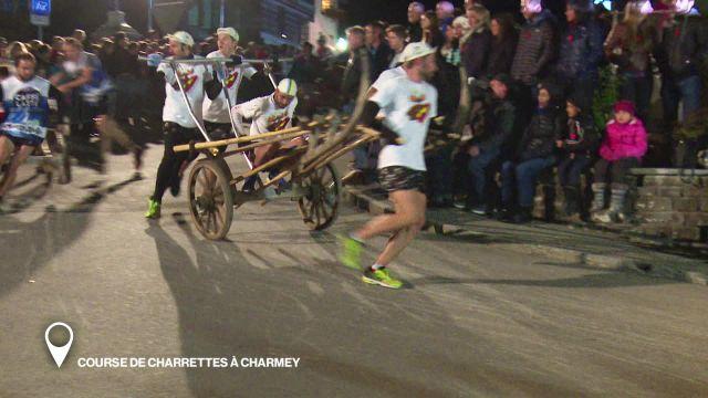 Course de charrettes à Charmey