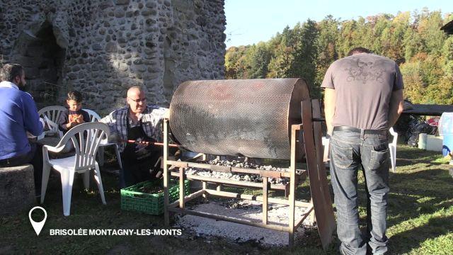 Brisolée à Montagny-les-Monts