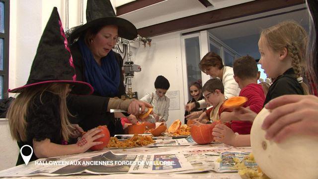 Halloween aux aciennes forges de Vallorbe