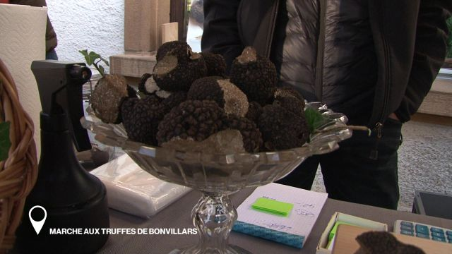 Marché aux truffes de Bonvillars