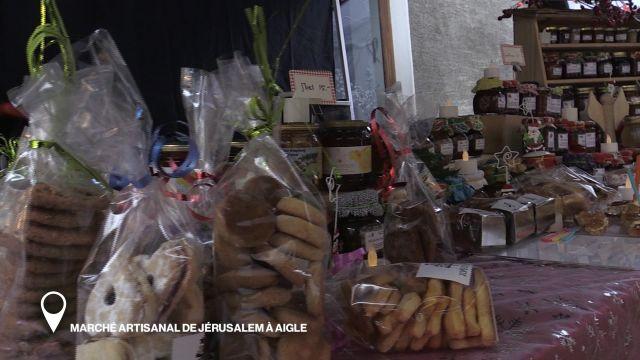 Marché Artisanal de Jérusalem à Aigle