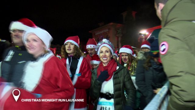 Christmas Midnight Run Lausanne