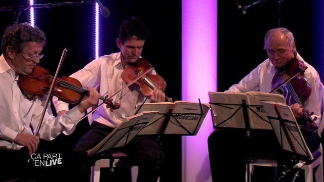 Le Quatuor Sine Nomine part en live !