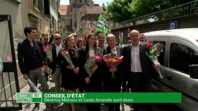 Elections cantonales vaudoises: flash de 14h00