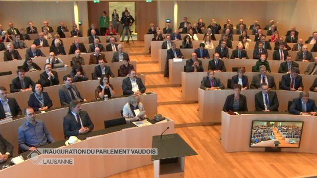 Inauguration du Parlement vaudois (1/3) - Séance inaugurale