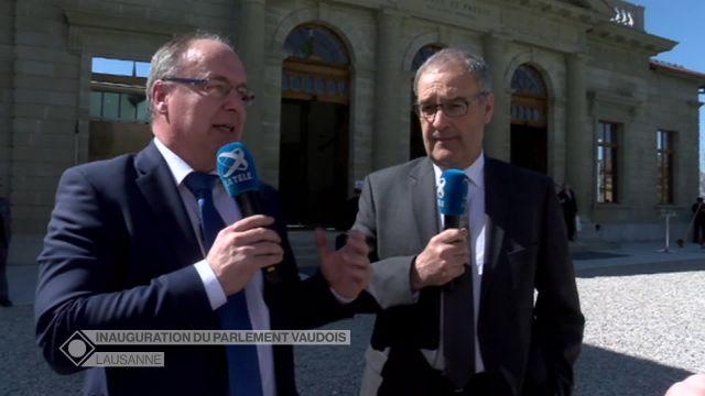 Inauguration du Parlement vaudois (3/3) - Invités