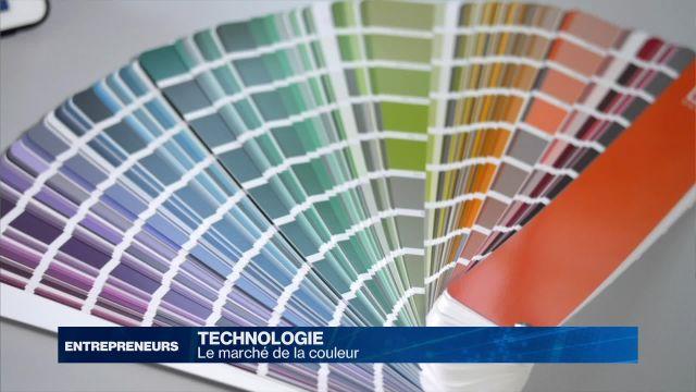 Le marché de la couleur
