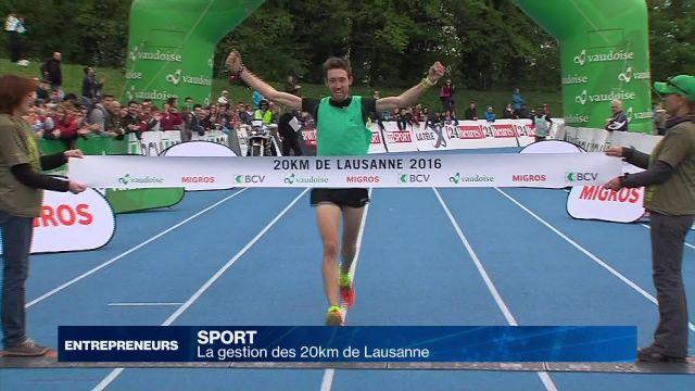 La gestion des 20km de Lausanne