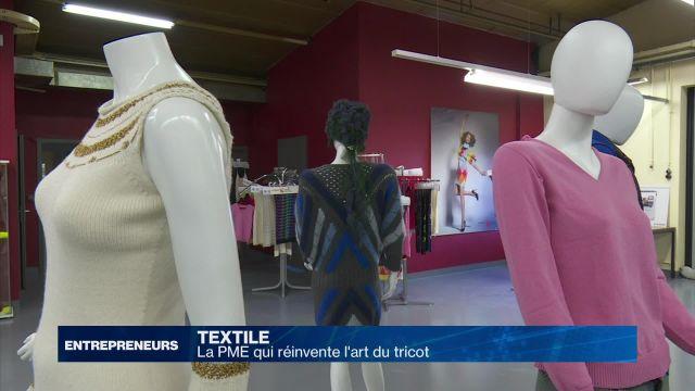 La PME qui réinvente l'art du tricot