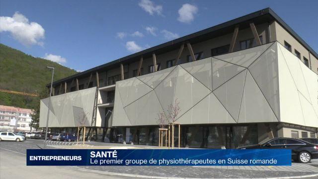 Le premier groupe de physiothérapeutes en Suisse romande