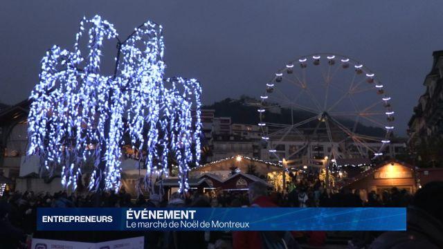 Montreux et son marché de Noël