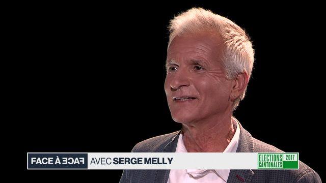 Face à face avec Serge Melly