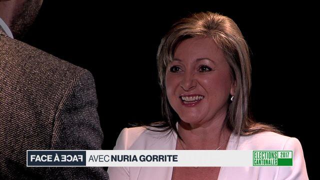 Face à face avec Nuria Gorrite