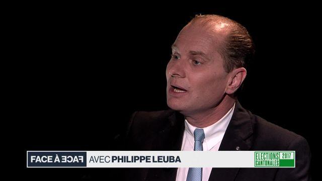 Face à face avec Philippe Leuba