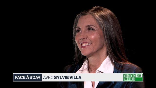 Face à face avec Sylvie Villa