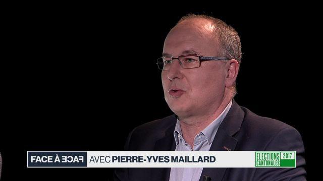 Face à face avec Pierre-Yves Maillard