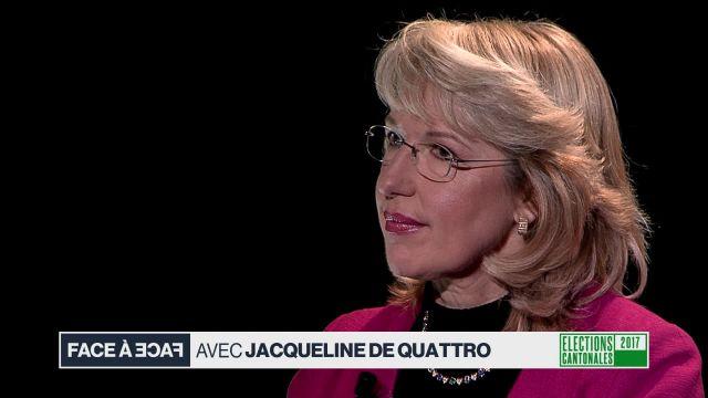 Face à face avec Jacqueline de Quattro