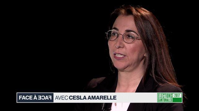 Face à face avec Cesla Amarelle