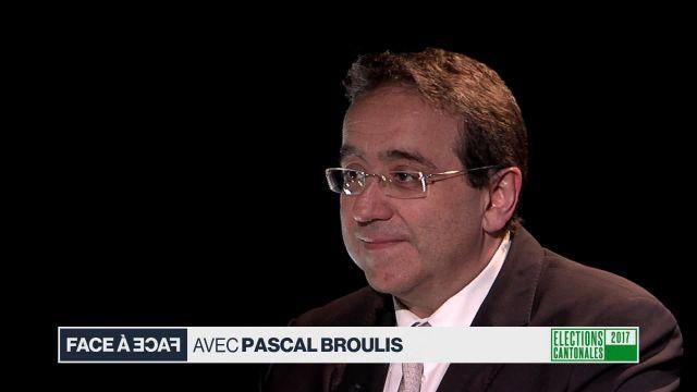 Face à face avec Pascal Broulis