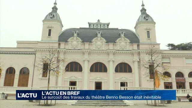 Yverdon: pas d'argent dépensé à tort au Théâtre Benno Besson