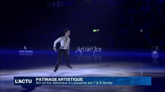 Art on Ice débarque à Lausanne les 7 & 8 février