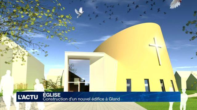 Une nouvelle église pour Gland