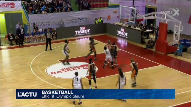 Swiss Basketball League CUP : Elfic rit, Olympic pleure
