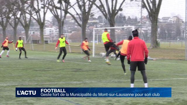 Football : L'opération maintien commence bien pour Le Mont