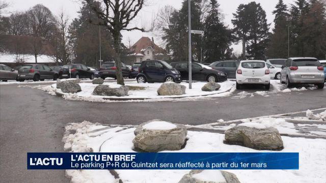 Le parking à Guintzet sera réaffecté à partir du 1er mars