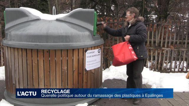 Querelle autour du recyclage des déchets à Epalinges