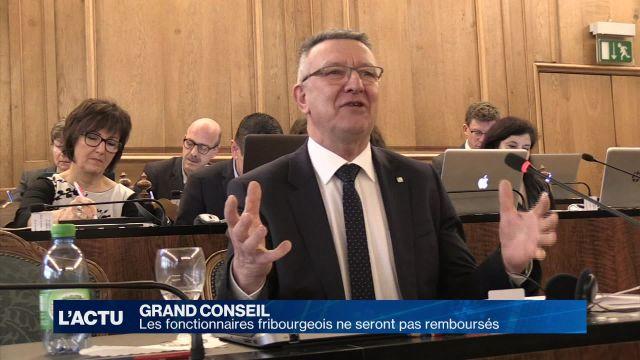 Le canton de Fribourg ne remboursera pas ses fonctionnaires