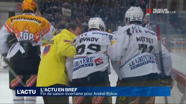 Fin de saison incertaine pour le dragon Andreï Bykov