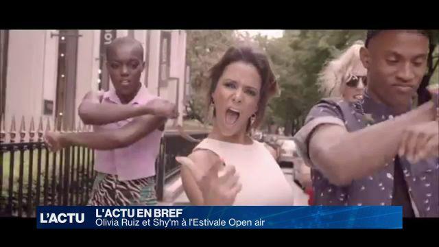 Olivia Ruiz et Shy'm à l'Estivale Open air 2017