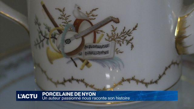 Un historien raconte l'histoire de la porcelaine de Nyon