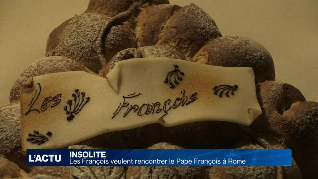 Les François veulent rencontrer le Pape