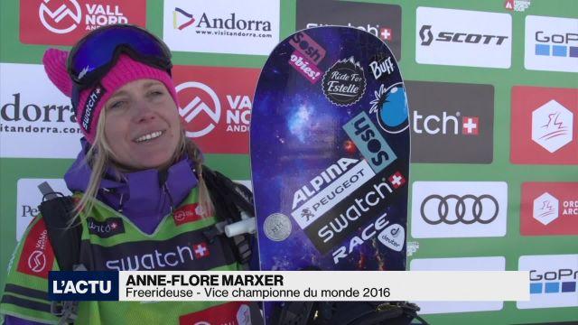 Anne-Flore Marxer s'impose en Andorre