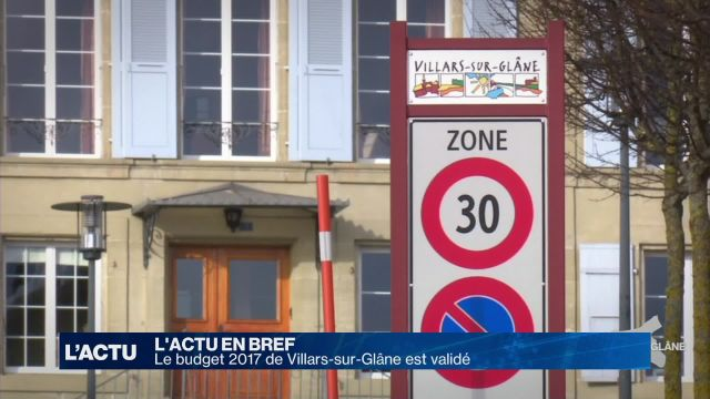 Budget 2017 validé à Villars-sur-Glâne