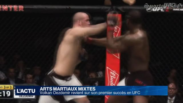 Combat:Volkan Oezdemir revient sur son premier succès en UFC