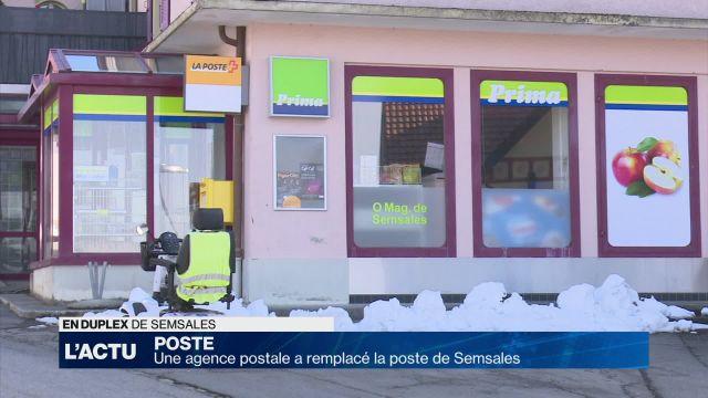 Une agence postale a remplacé la poste de Semsales