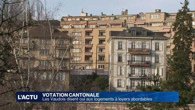Les Vaudois disent oui à des logements aux loyers abordables