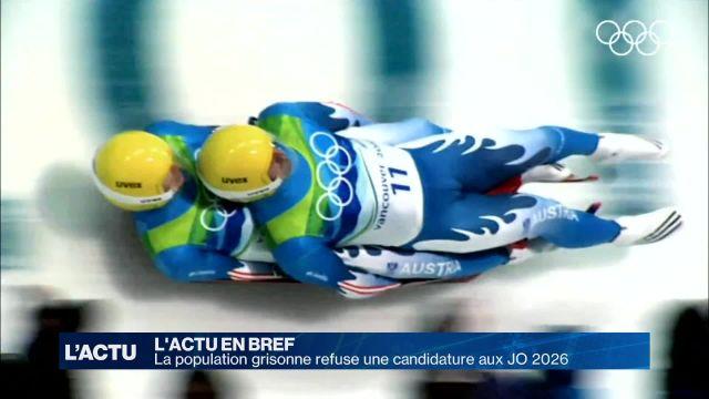 Le canton des Grisons refuse les Jeux Olympiques 2026