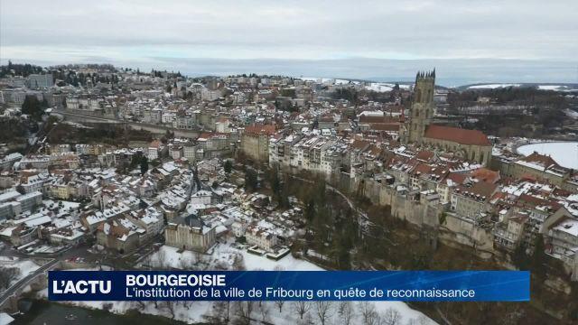 La Bourgeoisie de Fribourg rappelle son existence