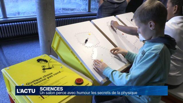 Un salon perce avec humour les secrets de la physique