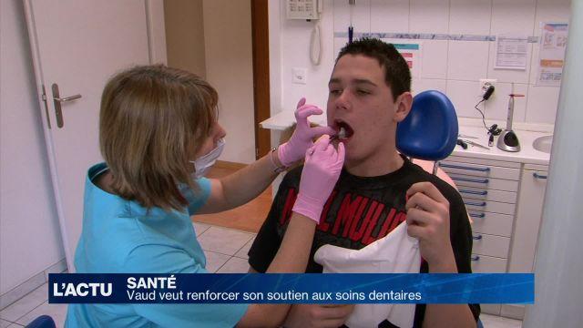 Vaud veut renforcer son soutien aux soins dentaires