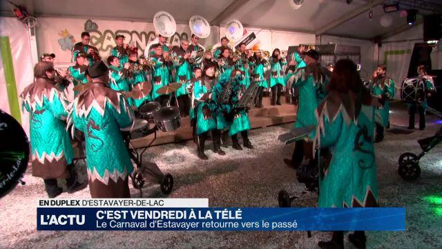 C'est Vendredi à La Télé au Carnaval d'Estavayer