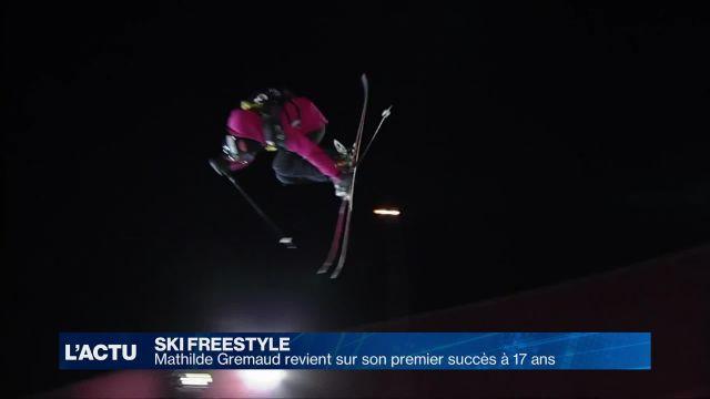 Ski:Mathilde Gremaud revient sur son premier succès à 17 ans