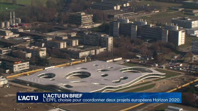L'EPFL choisie pour coordonner deux projets Horizon 2020