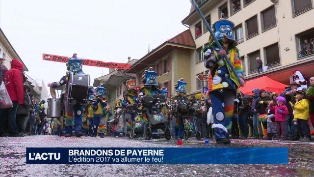 L'édition 2017 des Brandons de Payerne va allumer le feu!